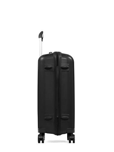 Cengiz Pakel Kabin Boy-Orta 2'li Set Valiz Siyah